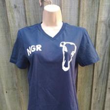 Single Head NGR T-Shirt - Navy